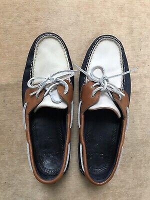 Mens CLARKS Deck Shoes Size 9G UK
