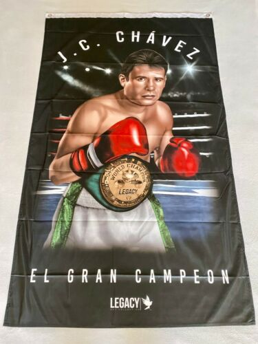 Julio Cesar Chavez 3ftx5ft flag banner mexican boxer mexico limited edition new