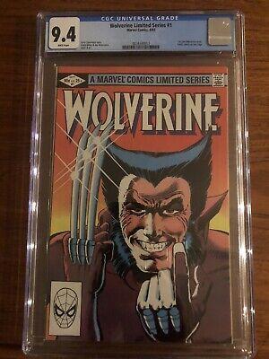 Wolverine #1 CGC 9.4 1st Solo Book