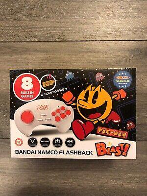 Namco Flashback Blast! 8 Classic Games PAC-MAN PNP HDMI Wireless Controller New!