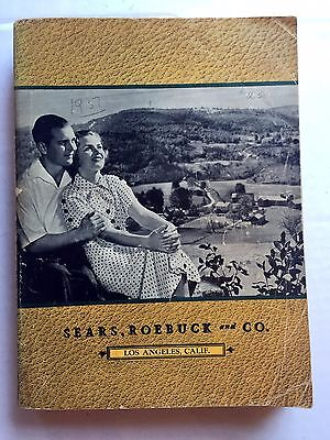 1937 Sears Roebuck Co Catalog Clothes  Furniture  Tools  Appliances