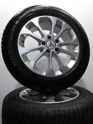 """4 Winterreifen 215 / 60 R17 Original Mercedes GLA Klasse X156 W156 17"""" Alu. RDK"""