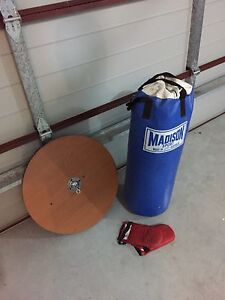 Punching bag & ceiling mount bracket Summerland Point Wyong Area Preview