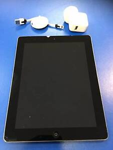 Apple iPad Gen 4 A1460  64Gb Cellular & WiFi 9.7 inch Charger Adamstown Newcastle Area Preview