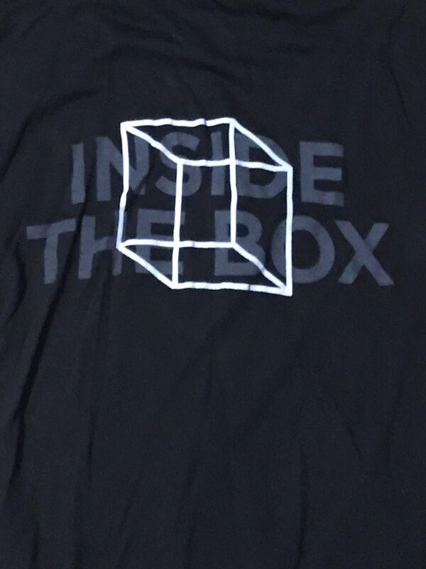 Hanson Inside The Box XS Hoodie Lightweight Black RARE