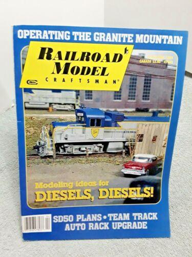 Railroad Model Craftsman Magazine April 1991 Z N HO S O G vintage