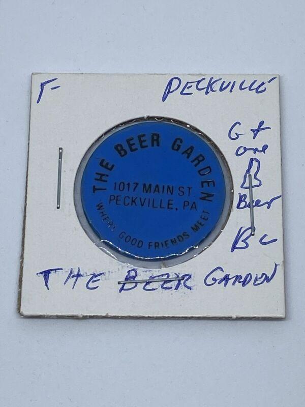 The Beer Garden Peckville PA good for One Beer In trade token. C308