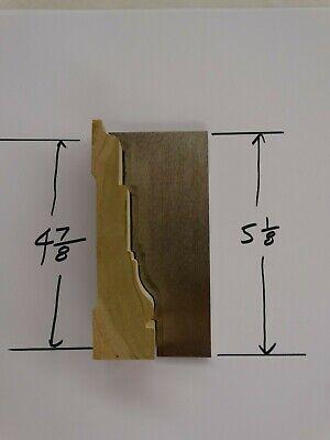 Shaper Moulder Custom Corrugated Back Cb Knives For 4 78 Casing