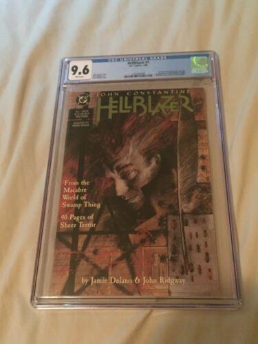 HELLBLAZER #1 - CGC 9.6 - 1ST SERIES DC Vertigo 1988