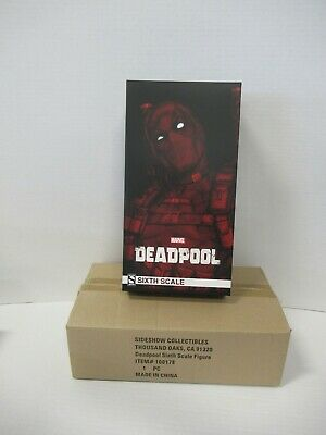 DEADPOOL 1/6 Scale Figure Marvel Sideshow Collectibles 100178 NIB ZQ