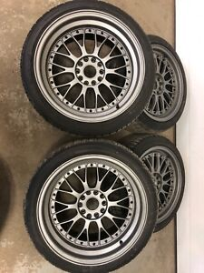 Staggered American Racing Rims for Bmw