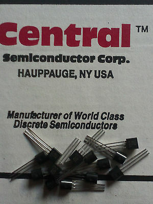 Mps404a Central Semiconductor Pnp Silicon Chopper Transistor 3pin To-92 5pcs