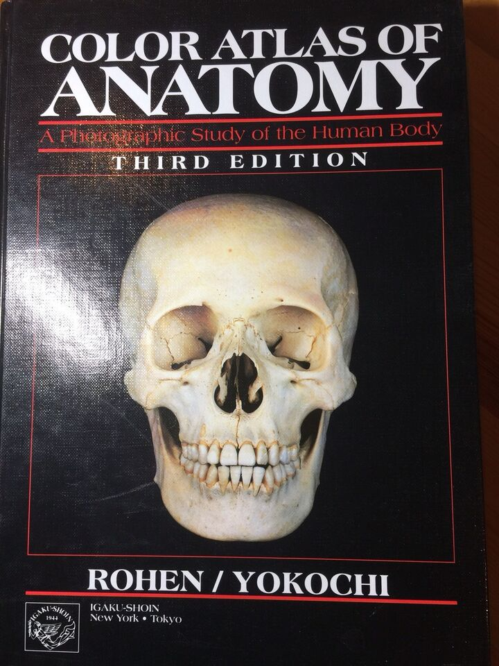 Colour Atlas Of Anatomy Rohanyokochi Textbooks St Johns Kijiji