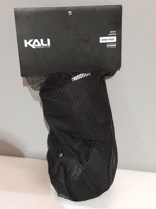 KALI PROTECTIVES STRIKE BODY ARMOR Knee Pads, Size: Large, Color: Black