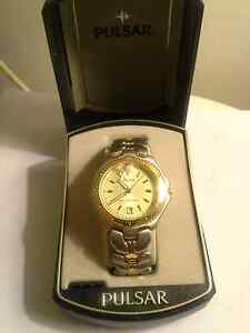 PULSAR Watch Gold & Brush Steel Chermside Brisbane North East Preview
