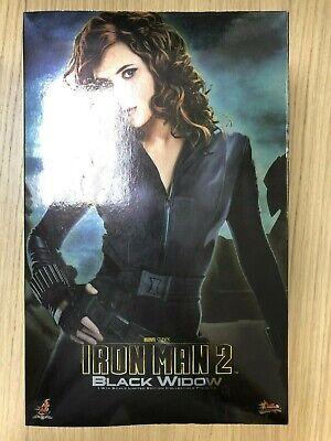 Hot Toys MMS 124 Iron Man 2 Black Widow Scarlett Johansson 12 inch Figure