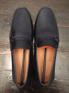 Magnanni Navy Loafers SIZE 10/43M