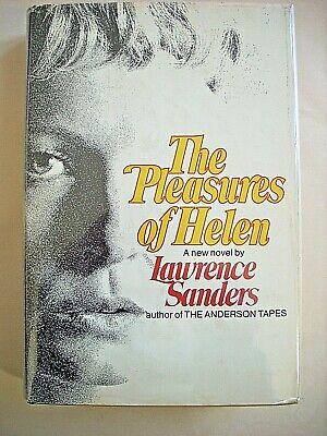Lawrence Sanders--PLEASURES OF HELEN 1st ed 1st ptg HCDJ 1971
