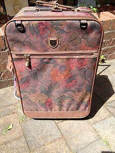 Floral Wheelie Suitcase Hurstville Hurstville Area Preview