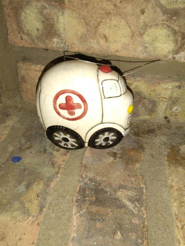Vintage Ambulance Ornament