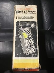 Rare Collectable Vintage Dick Smith Retro CB Radio Walkie Talkie
