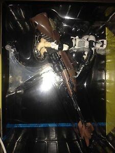 "Star Wars black series 6"" speeder bike with biker scout. Willetton Canning Area Preview"