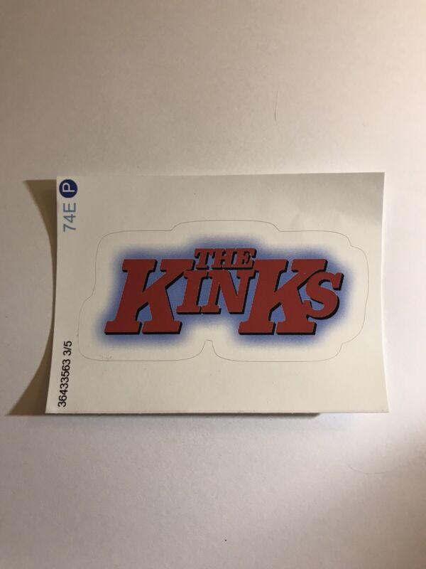 THE KINKS - STICKER!