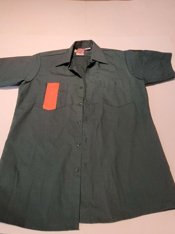 Vintage DSNY NYC New York City Department of Sanitation Official Uniform Medium