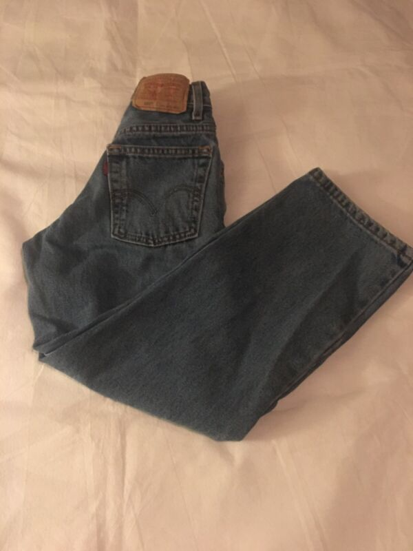 Boys Size 9 Slim 22.5X23.5 550 Relaxed Fit Levi