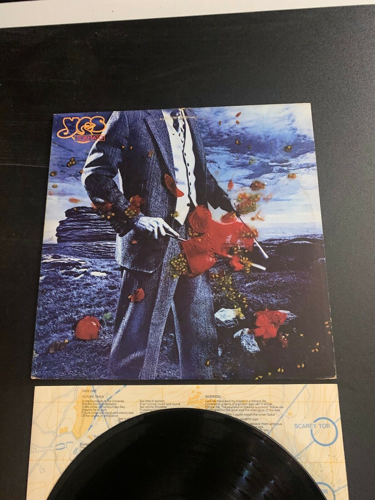 LP RECORD - YES - TORMATO - ATLANTIC RECORDS - $12.99