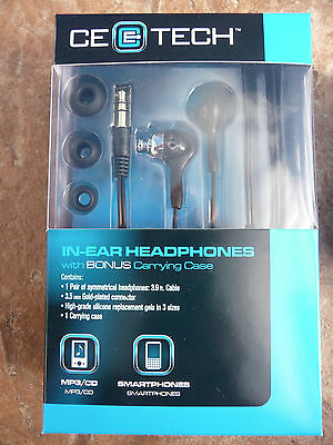 48 lot body new CE E TECH EARBUD S/M/L IN EAR HEADPHONES SMARTPHONE IPHONE IPOD