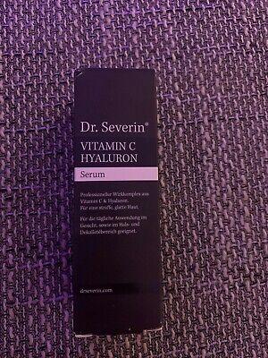 50ml Ultra Vitamin C Hyaluron Serum Dr. Severin® Anti AGING FALTEN - Junge Haut