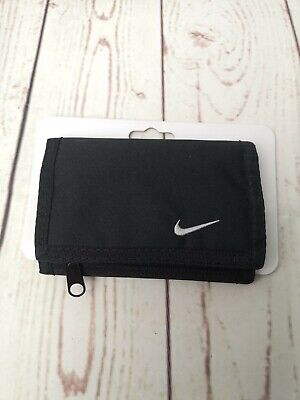 Nike- Basic Wallet- Black--old school wallet, new with packaging