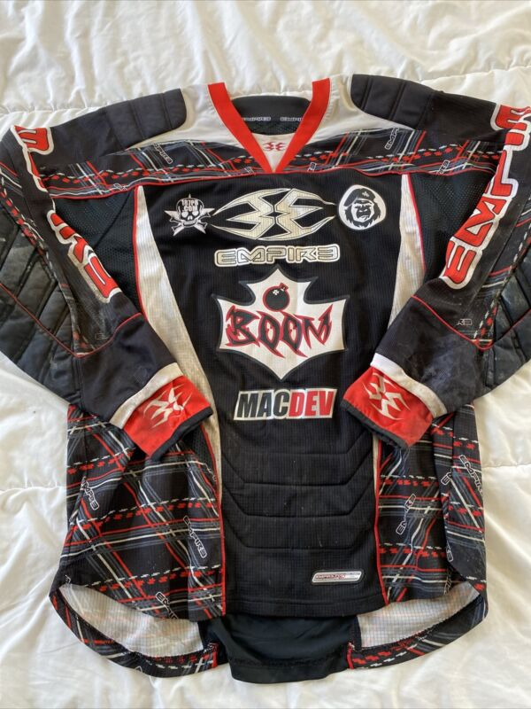 Empire Paintball Jersey Padded XXL MacDev - Team Boom - Fast Shipping!