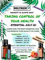 Free classes for October!