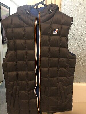 K-Way With Abercrombie & Fitch Mens Large Vest