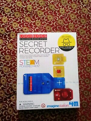 Logiblocs Secret Recorder - Spy Gadgets Kit for Children