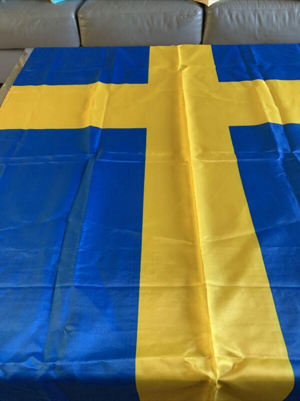 3X5ft Swedish FLAG Sweden better quality usa seller