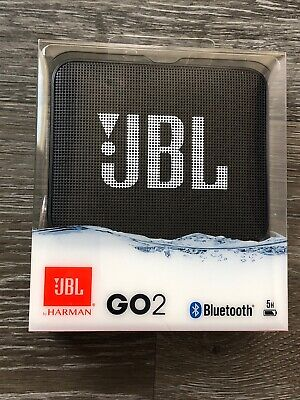 JBL Go 2 Portable Bluetooth Wireless Speaker - Black - New & Sealed