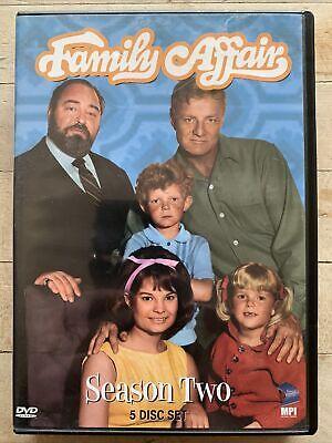 Family Affair - Season 2 (DVD, 2006, 5-Disc Set)