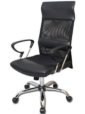 Ergonomic Swivel Office Chair with Lumbar Back Support Bolster, Pneumatic Gas... Back Pneumatic Swivel Chair