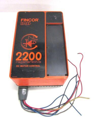 FINCOR IMO DRIVE 2200 P REGENERATIVE DC MOTOR CONTROL