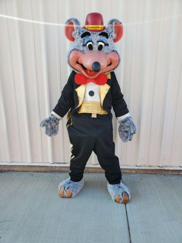 Chuck E. Cheese Walk Around Costume Tux Chuck RARE!!!