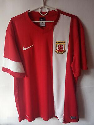 EXCELLENT!!! 2012-13 Gibraltar Home Shirt Jersey Trikot XL image