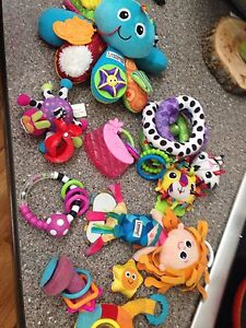 Lamaze and other baby toys