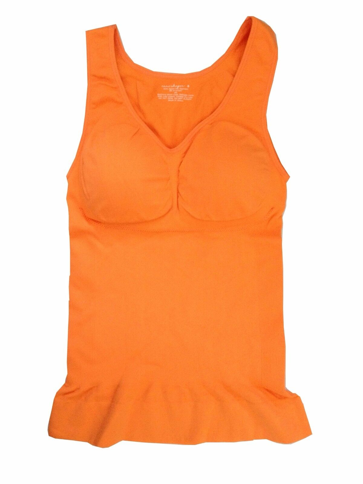 Genie 3 in 1 Cami Shaper w// Built-in Bra Seamless Shaping Camisole 3 Camisoles