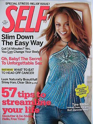 Tyra Banks  November 2005 Self Magazine