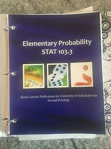 Usask Arts and Science First Year Textbooks