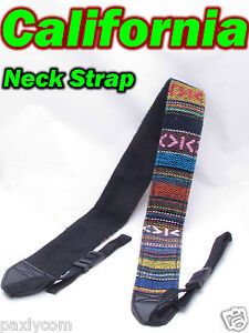 Neck Shoulder Strap Digital Camera Canon DSLR SLR Nikon Olympus Panasonic Sony