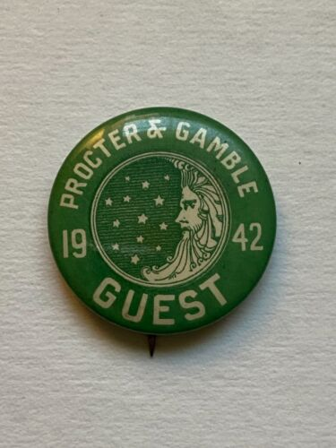 1942 Procter & Gamble Guest pin